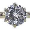 1.85 ct. Round Cut Solitaire Ring, I-J, I2-I3 #4
