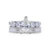 0.91 ct. Pear Cut Bridal Set Ring, I, SI1 #3