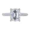 1.57 ct. Emerald Cut Solitaire Ring, H, VS2 #3
