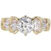 1.04 ct. Round Cut Bridal Set Ring, J, SI2 #3