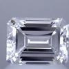 1.06 ct. Emerald Cut Solitaire Ring, D, VVS2 #1