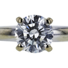 1.14 ct. Round Cut Bridal Set Ring, I, VS2 #4
