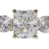 1.52 ct. Radiant Cut Bridal Set Ring, G, IF #4