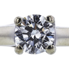 1.01 ct. Round Cut Solitaire Ring, H, VS1 #4