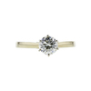 1.21 ct. Round Cut Solitaire Ring, M-Z, VVS2 #3