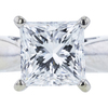 1.78 ct. Princess Cut Solitaire Ring, E, VVS2 #1