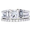 1.23 ct. Princess Cut Bridal Set Ring, G, VS2 #3