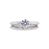 0.53 ct. Round Cut Bridal Set Tiffany & Co. Ring, F, VS1 #3