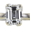 2.04 ct. Emerald Cut Solitaire Ring #2