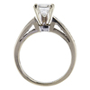 1.05 ct. Princess Cut Solitaire Ring #2