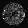 2.50 ct. Round Cut Stud Earring #4