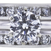 1.50 ct. Round Cut Bridal Set Ring, E, VS2 #4
