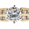 1.0 ct. Round Cut Ring, G, SI2 #4