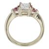0.71 ct. Princess Cut Bridal Set Ring, F-G, VS1 #4