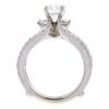 0.78 ct. Round Cut Bridal Set Ring, G, SI1 #4