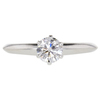 0.58 ct. Round Cut Solitaire Tiffany & Co. Ring, E, VS1 #3