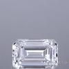 1.01 ct. Emerald Cut 3 Stone Ring, G, VS2 #1