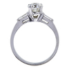1.19 ct. Round Cut 3 Stone Ring, H, VS2 #1