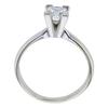 1.00 ct. Square Modified Cut Solitaire Ring, E, I1 #3