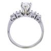 0.91 ct. Pear Cut Bridal Set Ring, I, SI1 #4