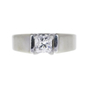 0.71 ct. Princess Cut Solitaire Ring, F, SI1 #3