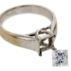 .71 ct. Princess Cut Solitaire Ring #3