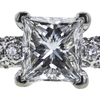 1.70 ct. Round Cut Bridal Set Tacori Ring, H, VS1 #4