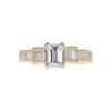 0.96 ct. Emerald Cut Solitaire Ring, F, VS1 #3