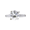 2.97 ct. Round Cut 3 Stone Ring, I, VS1 #3