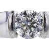 1.11 ct. Round Cut Solitaire Ring, J, I2 #4