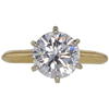2.02 ct. Round Cut Solitaire Ring, E, VVS2 #3