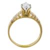 1.06 ct. Marquise Cut Bridal Set Ring, D, I1 #3