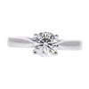 1.0 ct. Round Cut Solitaire Ring, I, I1 #3