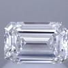 0.90 ct. Emerald Cut Solitaire Ring, E, VVS1 #1