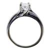 0.95 ct. Princess Cut Solitaire Ring, E, VS1 #2