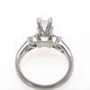 1.0 ct. Emerald Cut Bridal Set Ring #4