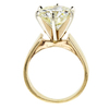 4.26 ct. Round Cut Solitaire Ring #3