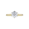 1.58 ct. Round Cut Solitaire Ring, G, I2 #3