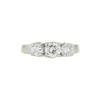 0.76 ct. Round Cut Bridal Set Ring, G-H, VS2-SI1 #3