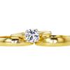 1.53 ct. Round Cut Bridal Set Ring, F, SI1 #2