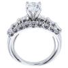 0.70 ct. Round Cut Bridal Set Ring, E-F, SI2 #3