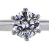 1.11 ct. Round Cut Bridal Set Tiffany & Co. Ring, F, VS1 #4