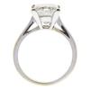 2.41 ct. Princess Cut Solitaire Ring, K, SI1 #4