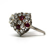 1.5 ct. Round Cut Right Hand Ring #4