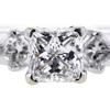 1.00 ct. Princess Cut Bridal Set Ring #4