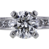 1.00 ct. Round Cut Bridal Set Ring #4