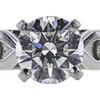 0.91 ct. Round Cut Bridal Set Ring, I, VS2 #4