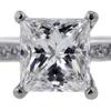 1.54 ct. Princess Cut Bridal Set Ring #4