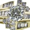 1.00 ct. Round Cut Bridal Set Ring, M-Z, SI2 #4