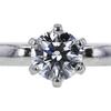0.66 ct. Round Cut Bridal Set Ring #4